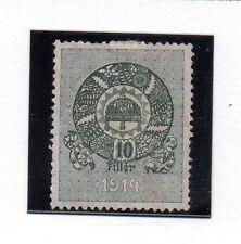 Hungria valor fiscal año 1914 (AR-980)