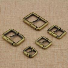 NEW 2Pcs Solid Brass Leathercraft Belt Bag Buckles High Quality DIY