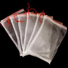 10Pcs Reusable Protect Plant Fruit Drawstring Net Bag Mesh Against Insect Pest
