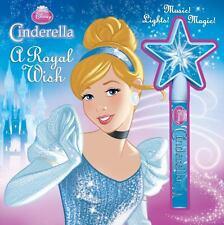 Disney Princess Cinderella A Royal Wish: Storybook and Wand