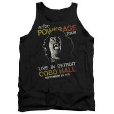 "AC/DC ""Powerage Tour 1976"" Men's Adult or Girl's Junior Tank"