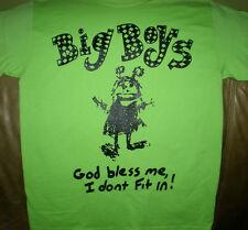 Big Boys - 'God Bless' T-shirts (punk oi kbd hardcore dicks texas red cross)