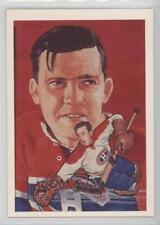 1987-88 Cartophilium Hockey Hall of Fame 139 Bill Durnan Montreal Canadiens Card