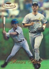 1998 Topps Gold Label Baseball Class 1 #34 Moises Alou Houston Astros
