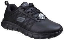 Skechers SK76576EC Sure Track Erath Occupational Trainer in Black sizes 3-8