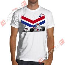 James Hunt Hesketh F1 Team White or Gray Soft T Shirt Formula 1
