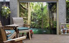 3D Holz Pool 428 Garage Tür Wand Druck Abziehbild Wand AJ WALLPAPER DE Lemon