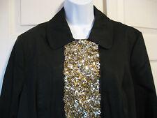 INC. DRESS COAT * L to XL * BLACK * NWT * HOLIDAY SHINE! * Orig. $198.  MACY'S *