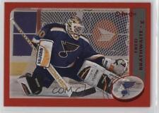 2002-03 Topps O-Pee-Chee Red #197 Fred Brathwaite St. Louis Blues Hockey Card