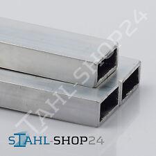 Aluminium Rechteckrohr Alu Vierkantrohr 20x10 bis 60x50