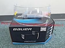 Bauer Pro-Clip Straight Hockey Helmet Visor! Clear Hardware Shield 1050354