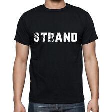 strand Tshirt, Homme Tshirt Noir, Mens Tshirt black, Cadeau, Gift
