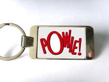 BAT FIGHT WORDS POWIE BATMAN COMIC POP ART KEY FOB KEYRING KEYFOB BOTTLE OPENER