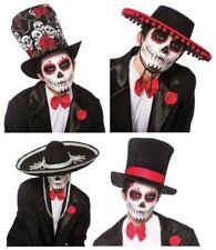 DÍA DE LOS MUERTOS Banda MARIACHI Sombrero Para Disfraz Mexicano ESPAÑOL