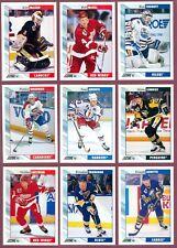 1992-93 SCORE USA NHL HOCKEY CARD 385 TO 511 SEE LIST
