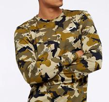 Nike Dri Fit Men Legend Long Sleeve Training Top - Camo Ah2341-209 - S M L