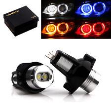 1Pair 6W *2 LED Angel Eyes Marker Bulb Headlight For BMW E90 E91 Auto Lamps 12V