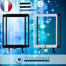 Vitre ecran tactile pour iPad Air 2 blanc/noir + outils