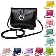 Women messenger bags Vintage style PU leather handbag Sweet cute Cross body@T3K4