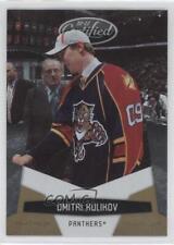 2010-11 Certified Platinum Gold #64 Dmitry Kulikov Florida Panthers Hockey Card