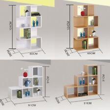 6 & 8 Cube Wooden Shelving Display Bookcase Shelves Storage Unit Wood Shelf Kids