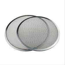 Vogue Pizza Screen Aluminium Kitchen Wire Mesh Baking Tray Cookware L