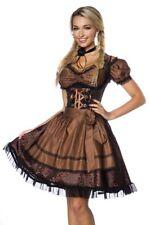 Dirndl robe chemisier femme bavaroise traditionnelle brun uy 70000