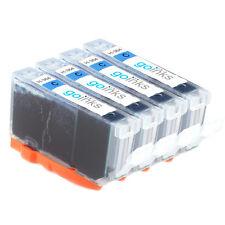 4 Cyan Ink Cartridges for HP Photosmart 5514 B109a B110e D5460 B209c C309n