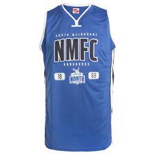 AFL North Melbourne Kangaroos Mens Basketball Jersey, sizes S M L only