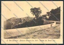 Roma San Vito Romano PIEGA FG cartolina D4707 SZD