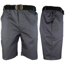 Arbeitshose Kurze Hose Kurz Bermuda Shorts Grau Gr. S - XXXL
