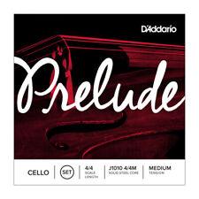 D 'Addario Prelude violonchelo String Set J1010, 4/4, 3/4, 1/2, 1/4 & 1/8 longitudes de escala