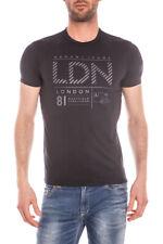 T-shirt Maglietta Armani Jeans T-Shirt Sweatshirt % Uomo Nero C6H18FF-12