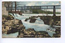 (w15h93-357) Linton Falls and New Tin Bridge, LINTON 1905 Used G-VG