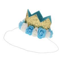 1 Pieza Corona Primera de Cumpleaños para Bebés Suministro de Envoltorio