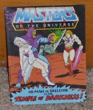 1983 MOTU Comic - He Man vs Skeletor in the Temple of Darkness