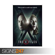 X Files la verità sta ancora presenti UFO Mulder Scully (1153) Poster Stampa