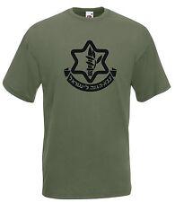 T-shirt Maglietta J1823 Stemma Militare Bassa Visibilità  Esercito Israeliano
