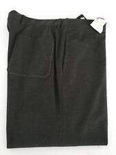 GRIFONI pantalones de hombre gris sin peniques bolsillo trasero a parche T. 54