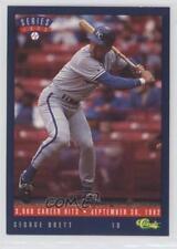 1993 Classic Update Blue Travel Edition T17 George Brett Kansas City Royals Card