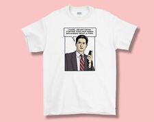 Picos gemelos Dale Cooper Camiseta, Camiseta Adulto S M L XL, total Cool!!! David Lynch