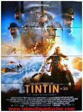 TINTIN SECRET DE LA LICORNE Affiche Cinéma / Movie Poster STEVEN SPIELBERG