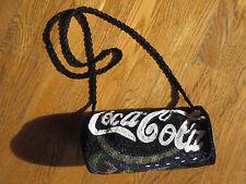 SPECIAL COCA-COLA COKE COCA COLA  BEADED INCREDIBLE PURSE HANDBAG BAG TOTE