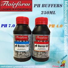 Hydroponics Flairform PH Buffer 4.0 7.0 250ml Ph Meters Test Adjustment Solution