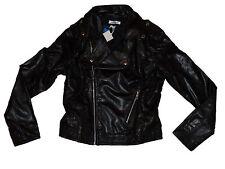 adidas Damen Leder Jacke FAUX LEATHER BI NEU A2-23 a3590b2a1c