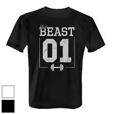 Her Beast 01 Vintage Herren T-Shirt Valentinstag Geschenk Paar Partner Beauty