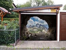 3D Grotte Pietra 6 Garage Porta Stampe Parete Decorazione Murale AJ WALLPAPER IT