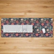 William Morris`Pattern Style Mouse Pad Laptop Mat XL Mousemats 80x30x2cm