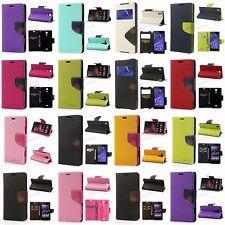 Mercury Goospery Fancy Diary Geldbörse Tasche für Sony Xperia