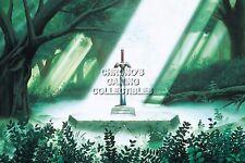 RGC Huge Poster - Legend of Zelda A Link to the Past Super Nintendo SNES -ZELP03